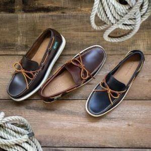 NIB Men's Eastland Yarmouth 1955 Boat Shoes Brown